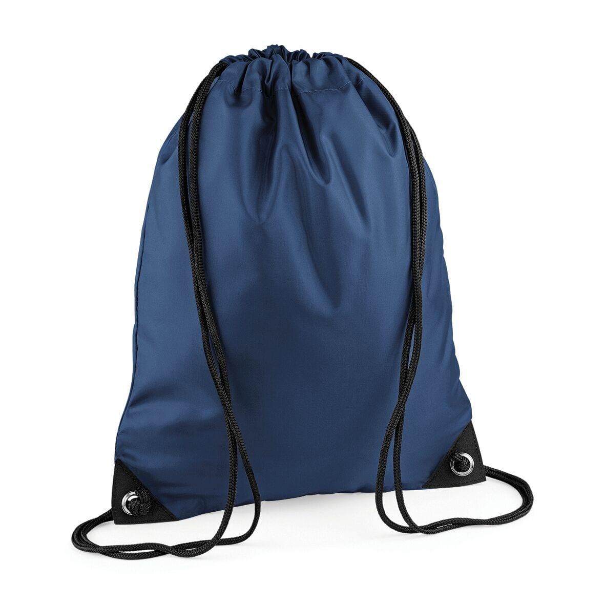 Navy String PE Bag - Identity